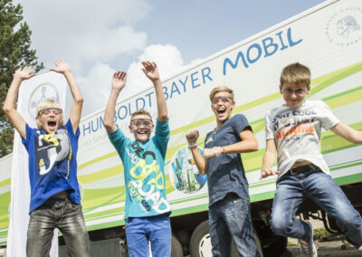 Schüler forschen – Humboldt Bayer Expeditionen