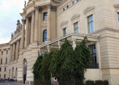 Historische Veranda der Juristischen Fakultät