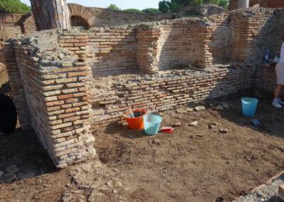 Bauaufnahme eines weiteren Tempels durch OFP-Mitarbeiter